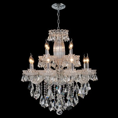Pulaski 12-Light Crystal Chandelier