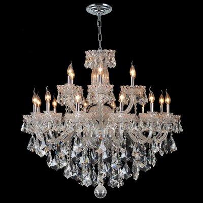 Olde World 18-Light Crystal Chandelier