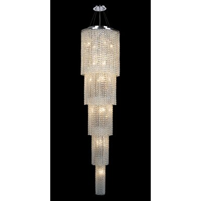 Diep 19-Light Crystal Chandelier