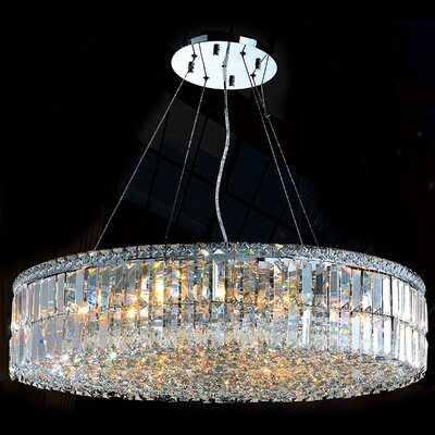 Anjali 18-Light Crystal Chandelier