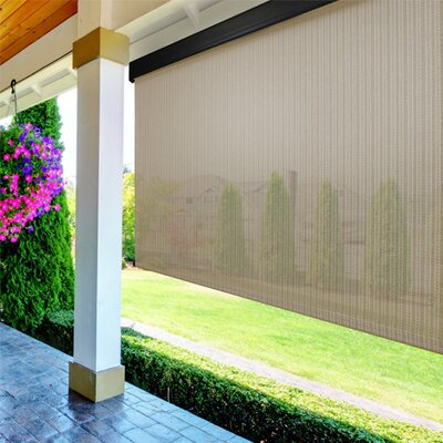 Blackout Solar Shade Color: Tropic, Size: 96 W x 96 L
