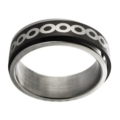 Trendbox Jewelry Infinity Design Spinner Band Ring - Size: 12 at Sears.com