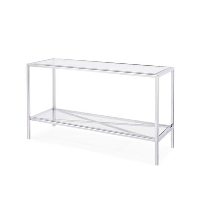 Gardner Console Table Finish: Silver
