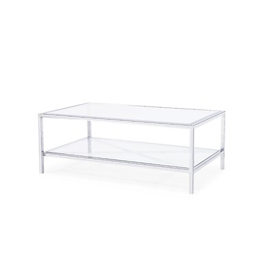 Gardner Coffee Table Finish: Silver