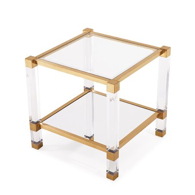 Santa Monica End Table Finish: Antique Gold