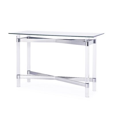 Townsend End Table Finish: Silver