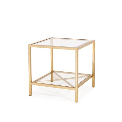 Gardner End Table Finish: Antique Gold