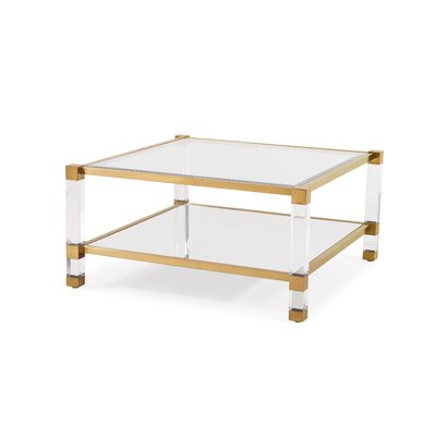 Santa Monica Coffee Table Finish: Gold