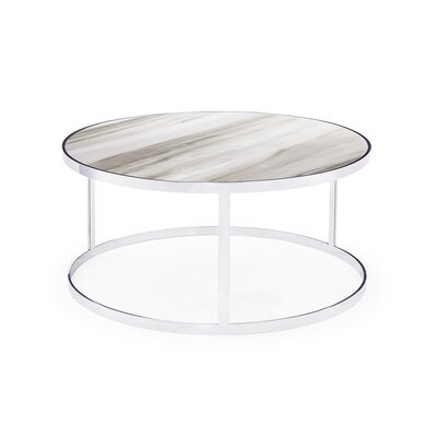 Soho Coffee Table Table Top Color: White