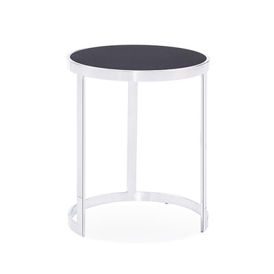 Soho 2 Piece Nesting Tables Table Top Color: Charcoal