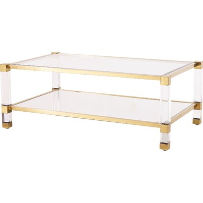 Santa Monica Coffee Table Color: Antique Gold