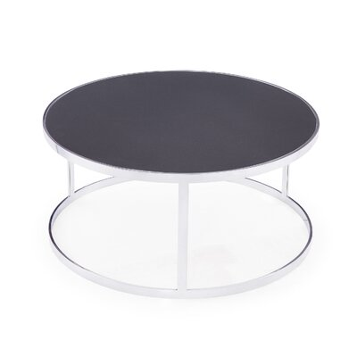 Soho Coffee Table Table Top Color: Charcoal