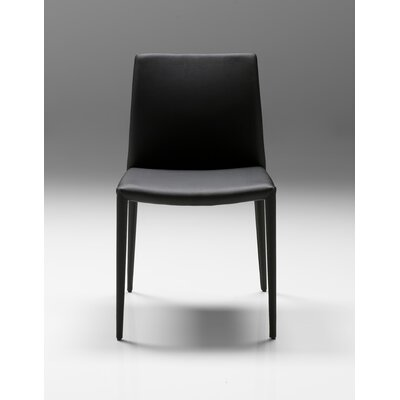 Zeno Side Chair (Set of 2) Finish: Black