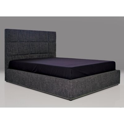 Glare Upholstered Platform Bed Size: King, Upholstery: Charcoal