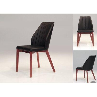 Totem Side Chair (Set of 2) Color: Black