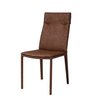 Harris Dining Chair (Set of 2) Finish: Brown