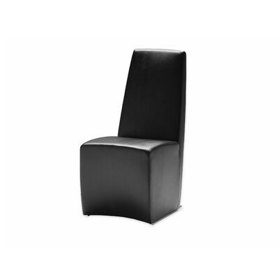 Tao Parsons Chair (Set of 2) Upholstery: Black