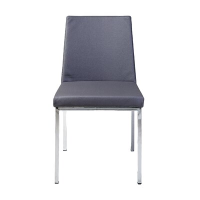 Weston Side Chair in Leatherette - Grey (Set of 2)
