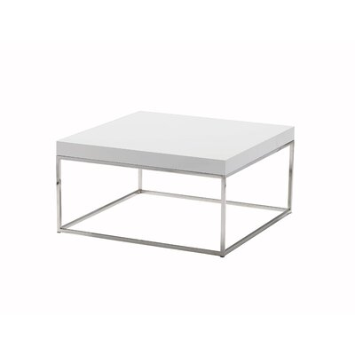 Shymier Contemporary Square Coffee Table