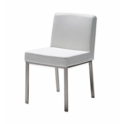 Tarna Parsons Chair (Set of 2) Upholstery: White