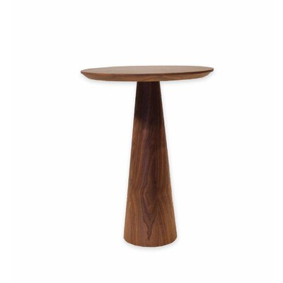 Tower End Table Color: Walnut