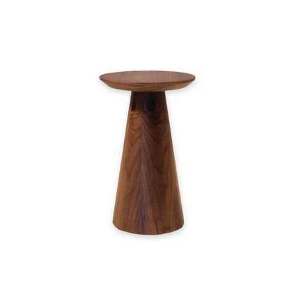 Tower Low End Table Color: Walnut