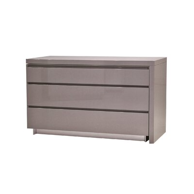 Savvy Extension Dresser Color: Grey