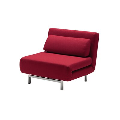 Iso Convertible Chair Finish: Red