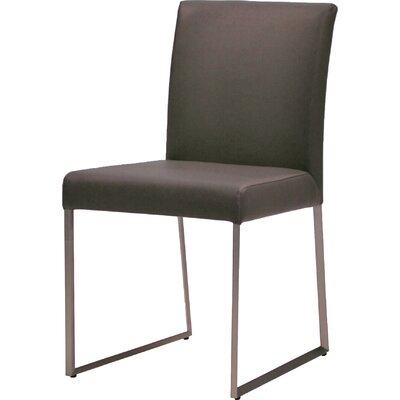 Tate Dining Chair (Set of 2) Upholstery: Grey