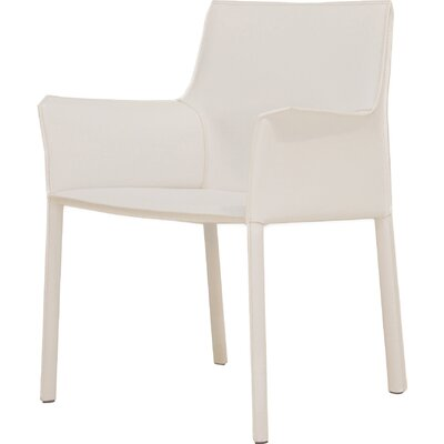 Fleur Armchair Upholstery: White