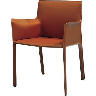 Fleur Armchair Upholstery: Caramel