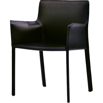 Fleur Armchair Upholstery: Black