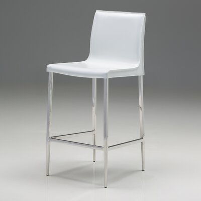 Alix 30 Bar Stool (Set of 2) Upholstery: Pure White