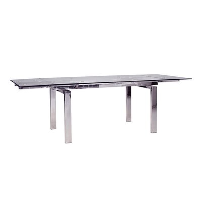 Cantro Extending Dining Table Finish: Steel