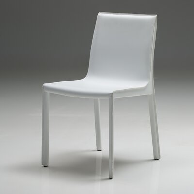 Fleur Dining Chair (Set of 2) Finish: White