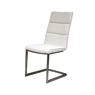 Duomo Side Chair (Set of 2) Color: White