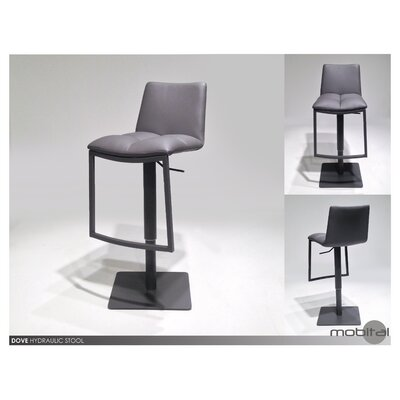 Dove Adjustable Height Swivel Bar Stool