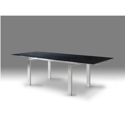 Cantro Extending Dining Table Finish: Brush
