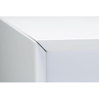 Debbi 6 Drawer Double Dresser Color: White