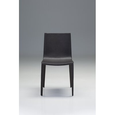 Tiara Side Chair (Set of 2) Finish: Black