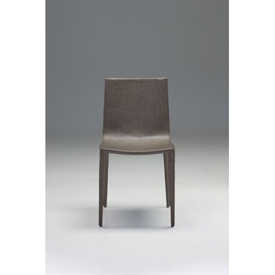 Tiara Side Chair (Set of 2) Finish: Porcini