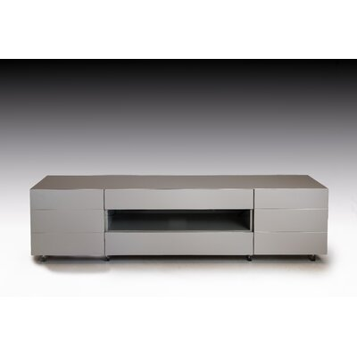 Jenise 63 TV Stand Color: Matte Stone
