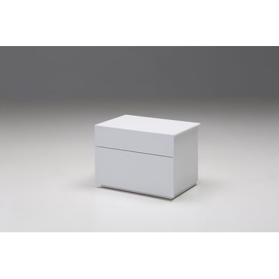 Debbi Nightstand Finish: White