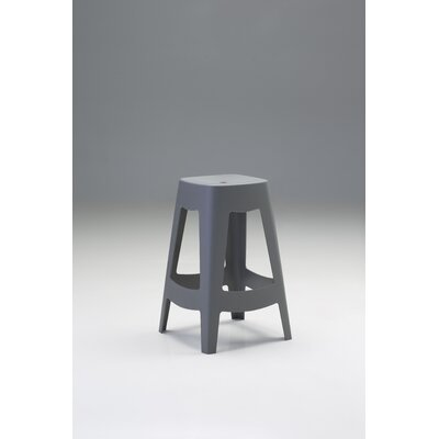 Carley Counter 27 Bar Stool (Set of 4) Color: Gray