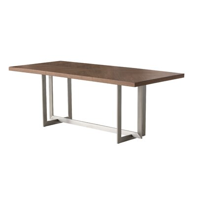 Bryan Dining Table Color: Natural Walnut