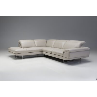 Deontaye Left Hand Facing Chaise Upholstery: Light, Orientation: Left Hand Facing