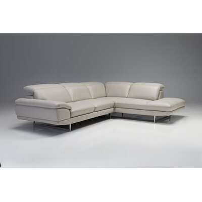 Deontaye Left Hand Facing Chaise Upholstery: Light, Orientation: Right Hand Facing
