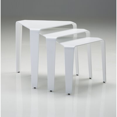South Perth Solid Surface 3 Piece Nesting Tables
