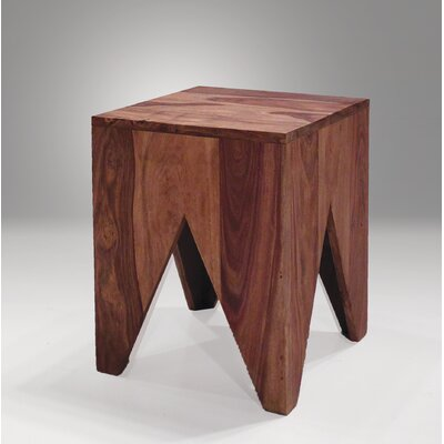 Steeley End Table with Sheesham Wood