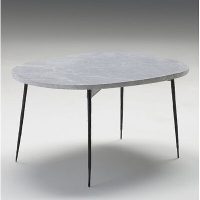 Athena Large Coffee Table Size: 16 H x 30 W x 22 D, Top Color: Gray Marble